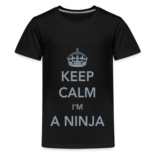 Ninja Calm - Kids' Premium T-Shirt