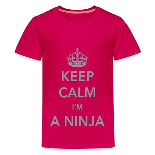 Ninja Calm - Youth Girls - Kids' Premium T-Shirt