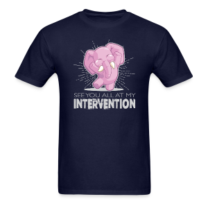 Intervention - Men's T-Shirt