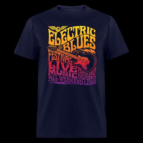 Electric Blues - Men's T-Shirt