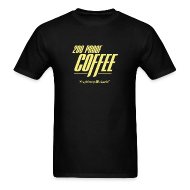 T-Shirts ~ Men's T-Shirt ~ 200 Proof Coffee