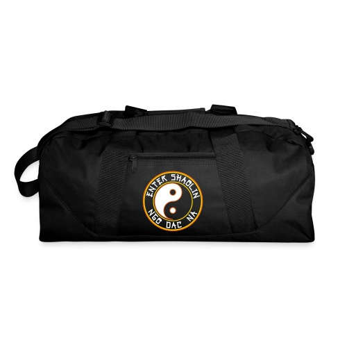 Enter Shaolin Duffle Bag in Black (Main Logo) - Duffel Bag