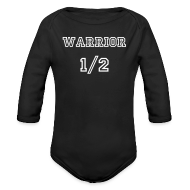 Baby Bodysuits ~ Baby Long Sleeve One Piece ~ Warrior Baby