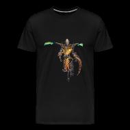 T-Shirts ~ Men's Premium T-Shirt ~ Smite Ah Muzen Cab Men's T-shirt