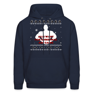 All I Want For Christmas Are Gains Inspiration - Men's Hoodie
