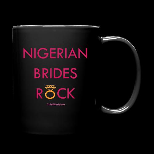 Nigerian Brides Rock Black Mug - Full Color Mug