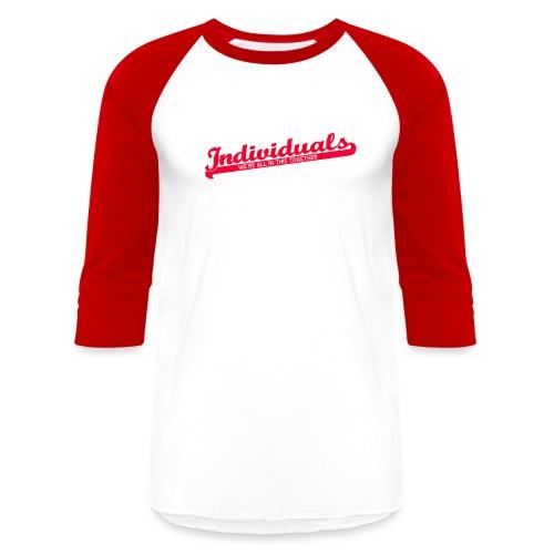 Individuals (Red) - Baseball T-Shirt