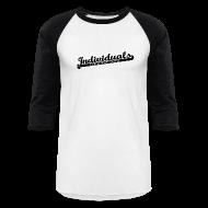 T-Shirts ~ Baseball T-Shirt ~ Individuals (Black)