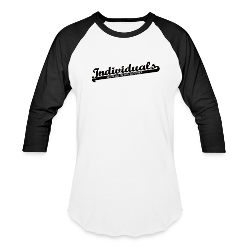Individuals (Black) - Baseball T-Shirt