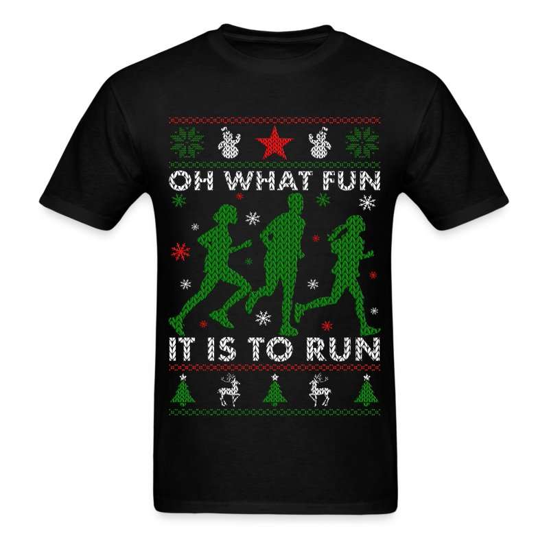 Oh What Fun It Is To Run T Shirt Spreadshirt