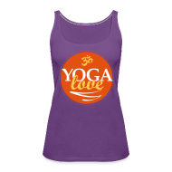 Tanks ~ Women's Premium Tank Top ~ YOGA LOVE