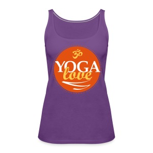 YOGA LOVE - Women's Premium Tank Top