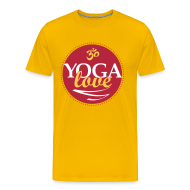 T-Shirts ~ Men's Premium T-Shirt ~ YOGA LOVE