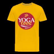 T-Shirts ~ Men's Premium T-Shirt ~ YOGA LOVE