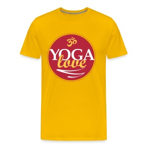 YOGA LOVE - Men's Premium T-Shirt