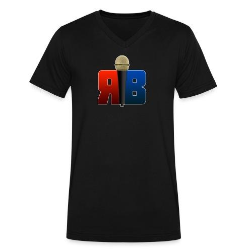 RubikBeatbox Logo V-Neck - Men's V-Neck T-Shirt by Canvas