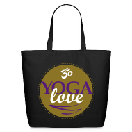 Bags & backpacks ~ Eco-Friendly Cotton Tote ~ YOGA LOVE