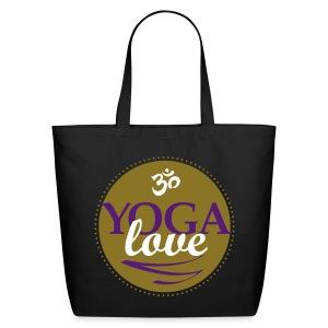 YOGA LOVE - Eco-Friendly Cotton Tote