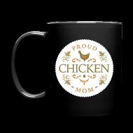 Mugs & Drinkware ~ Full Color Mug ~ Proud chicken mom