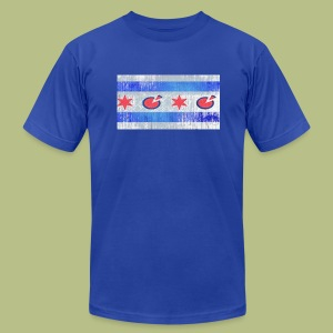 City Of Chicago - Men's T-Shirt by American Apparel