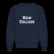 Long Sleeve Shirts ~ Crewneck Sweatshirt ~ Ham College Sweat Shirt