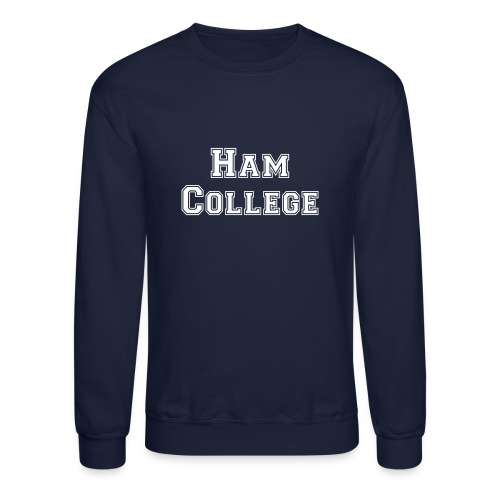 Ham College Sweat Shirt - Crewneck Sweatshirt