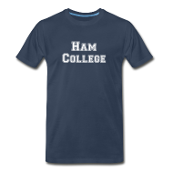 T-Shirts ~ Men's Premium T-Shirt ~ Ham College T-Shirt
