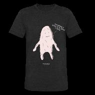 T-Shirts ~ Unisex Tri-Blend T-Shirt ~ Anxiety Blob Unisex T