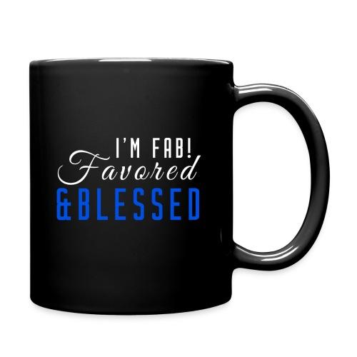 FAB Blue Coffee/Tea Mug - Full Color Mug