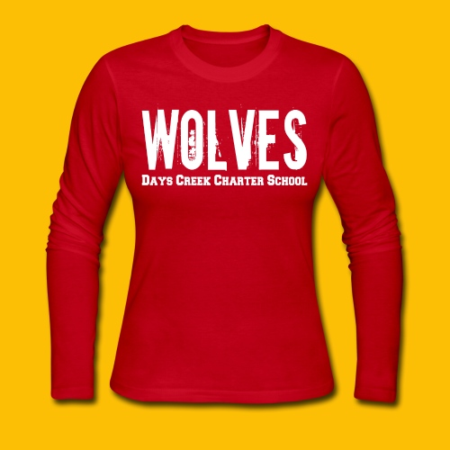 WOLVES DCCS Women's Long Sleeve  - Women's Long Sleeve Jersey T-Shirt