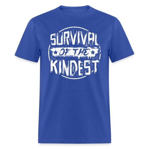 Men's T-Shirt 'SURVIVAL OF THE KINDEST' - Men's T-Shirt