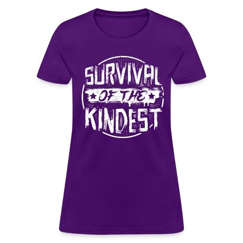 Women's T-Shirt 'SURVIVAL OF THE KINDEST' - Women's T-Shirt