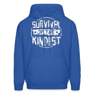 Men's Hoodie 'SURVIVAL OF THE KINDEST' - Men's Hoodie