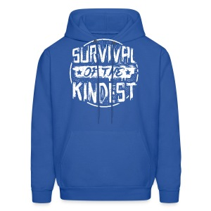 Men's Hoodie 'SURVIVAL OF THE KINDEST' - Men's Hoodie
