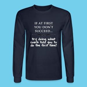 eed.. - Men's LS Tee - Men's Long Sleeve T-Shirt