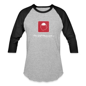 Lg Logo V3 distressed jersey - Baseball T-Shirt