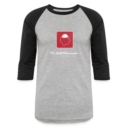 Lg Logo V3 distressed jersey - Baseball T-Shirt
