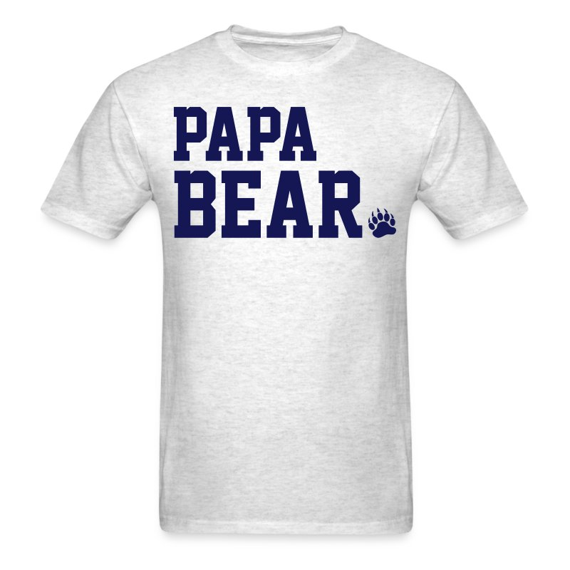 papa bear t shirts t shirt spreadshirt. Black Bedroom Furniture Sets. Home Design Ideas