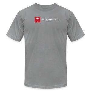 LG Logostrip V3 (choice of color) t-shirt  - Men's Fine Jersey T-Shirt