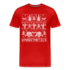 Ugly Christmas Gym Shirt - Men's Premium T-Shirt