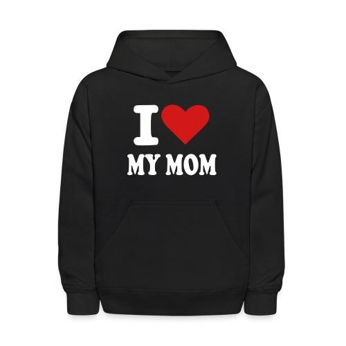 I love mom - Kids' Hoodie