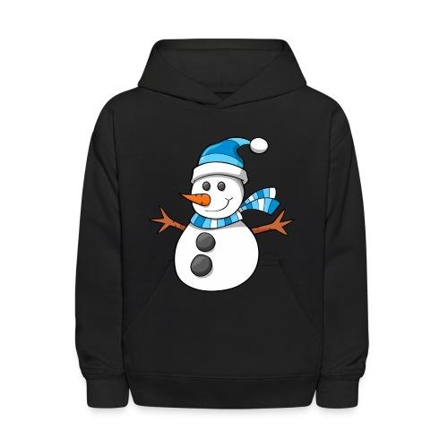 SnowMan - Kid Hoodie - Kids' Hoodie