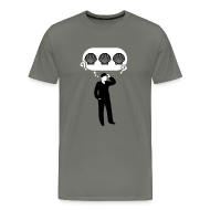 T-Shirts ~ Men's Premium T-Shirt ~ Three Sea Shells [seashells]