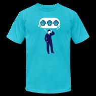 T-Shirts ~ Men's T-Shirt by American Apparel ~ Three Sea Shells [seashells]