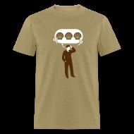 T-Shirts ~ Men's T-Shirt ~ Three Sea Shells [seashells]