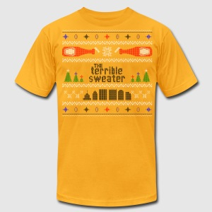 Terrible Sweater 2015 - Men's T-Shirt by American Apparel