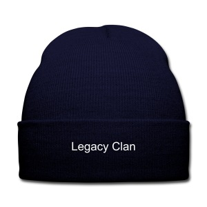 Legacy Clan winter hat - Knit Cap with Cuff Print
