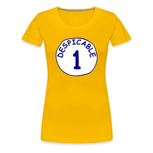 DESPICABLE - Women's Premium T-Shirt