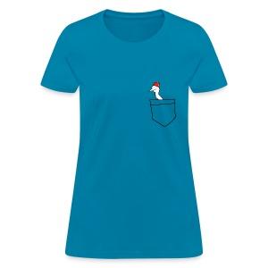 Pocket Swanne Slim Tee - Women's T-Shirt