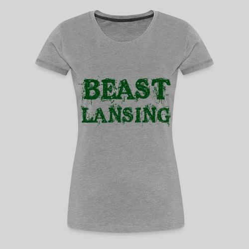 BEAST Lansing - Women's Premium T-Shirt